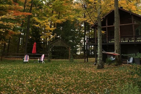Comfy Cabin on Echo Pond, Sherman (Chautauqua) NY - Sherman
