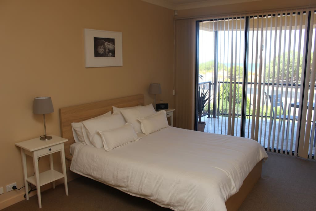 Main Bedroom with private balcony, ensuite and spa