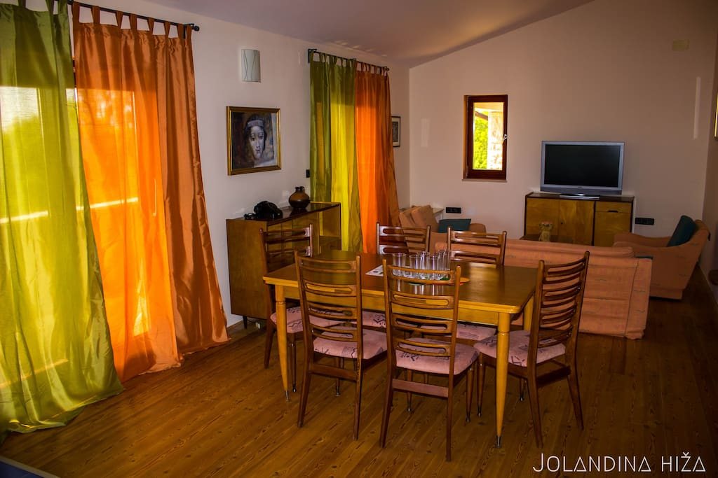 The living room/The dining room - open space