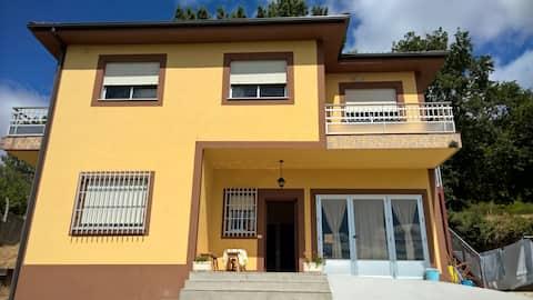 Habitación individual en Portomarín