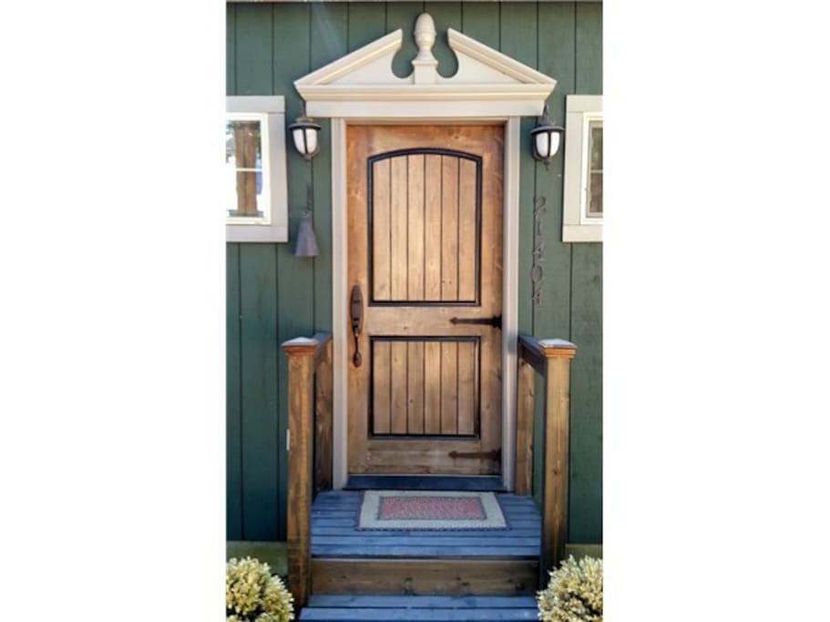 Front Door Custom Woodwork
