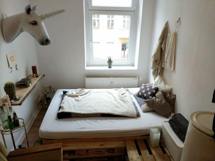 bed: 1,40mx2m