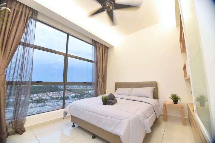Cozy Home Studio @ Seri Kembangan Wi-Fi
