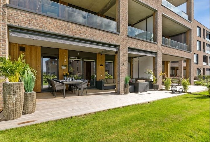 Fantastic apartment at Fornebu (Storøya beach)