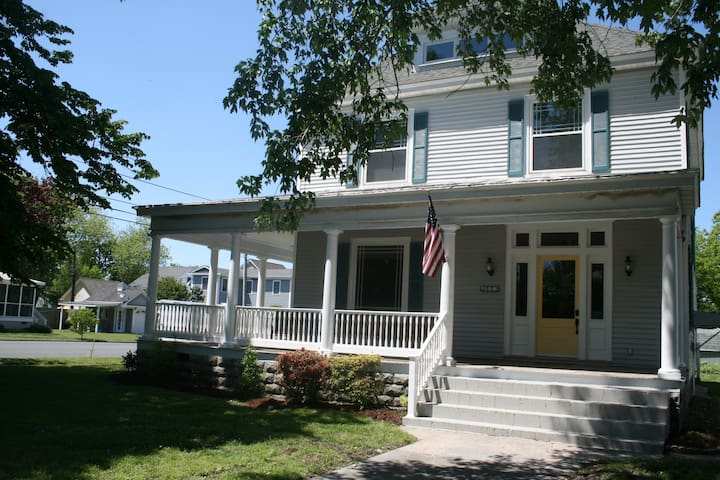 House facing Monroe Avenue