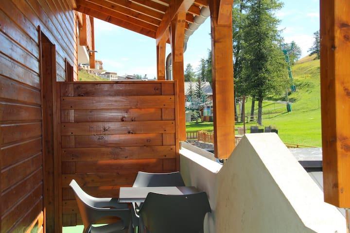 Logement 1 chambre au pied des pistes de Valberg