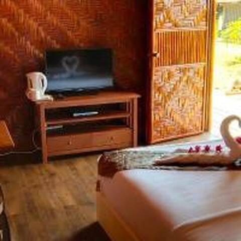 Bambu Villa Casette B - Room view.