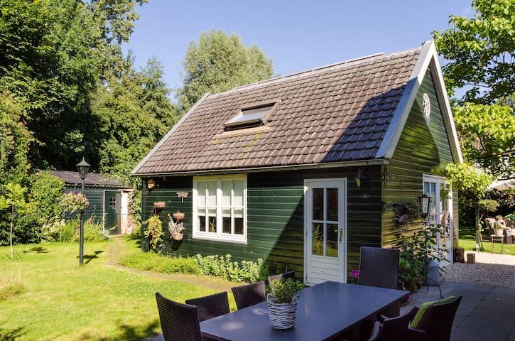 Tuinhuis met 2-persbed en badkamer - Utrecht - Cabaña
