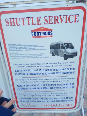 Our own bus service