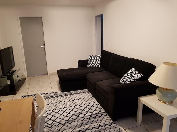 Appartement spacieux à Louvres, à 10mn de CDG