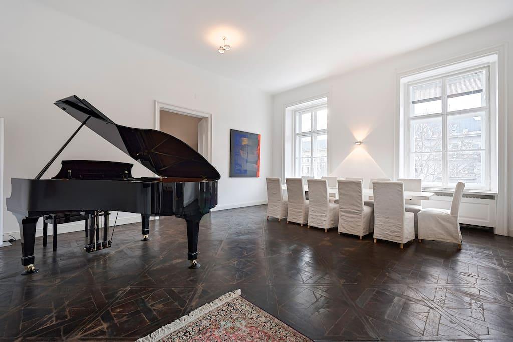 dining-room/piano-room
