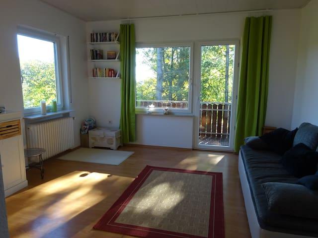 Helle, gemütliche Wohnung in Seidenbuch/Odenwald