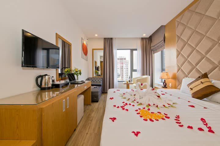 3 Bedrooms@Buffet Breakfast@Top pool@New hotel