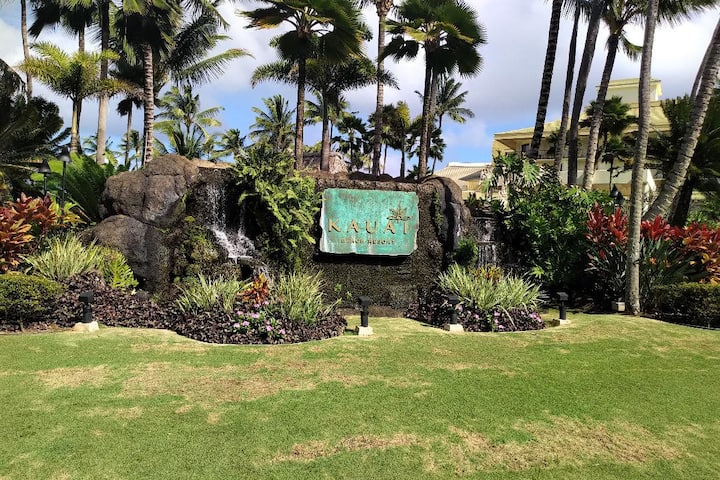Kauai Beach Resort. Beach Front. No resort Fees
