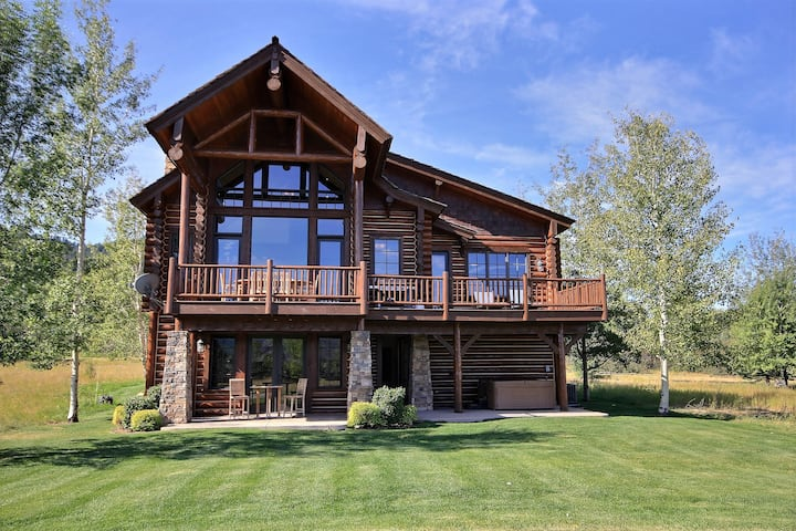 Wydaho Cabin: High-End Cabin in Teton Springs