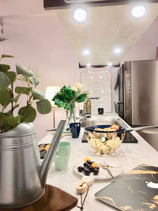 1F Living Room/一樓客廳 基本廚房設備