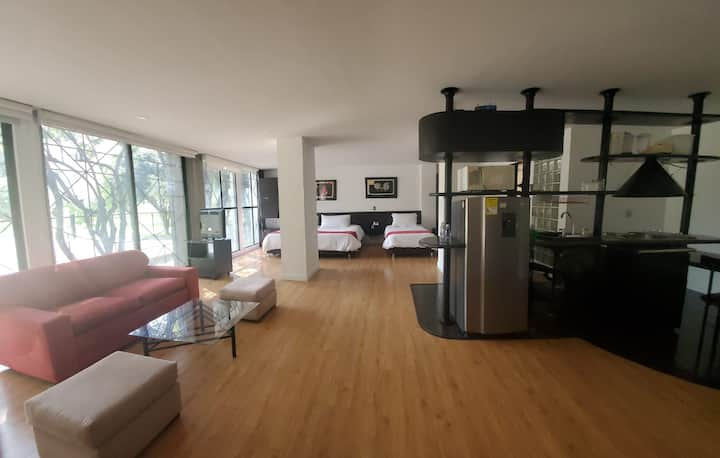 Exclusivo Loft Apartament Suite en Santa Bárbara
