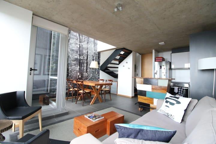 Moderno departamento con espectacular vista al mar - Valparaíso - Apartment