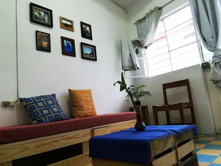 Habitación en el centro de Xalapa