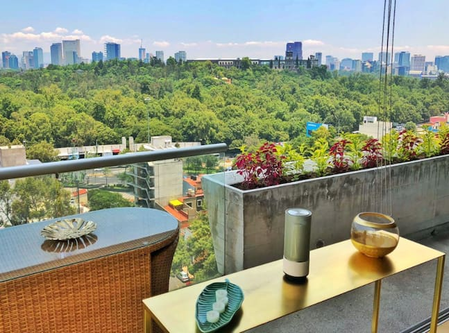 Amazing apartment w/ stunning view in Condesa