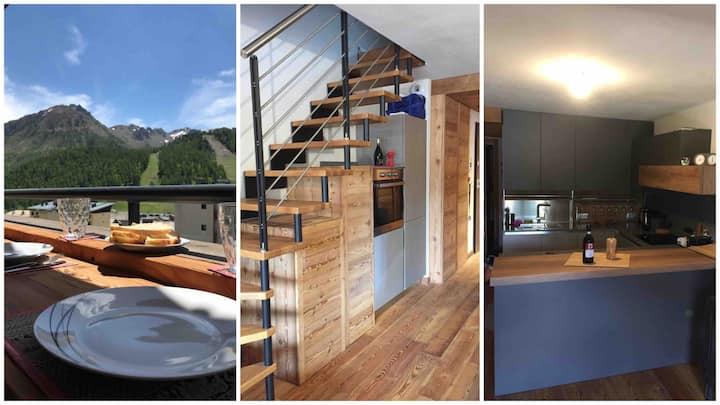 Modern luxury flat, great location & stunning view