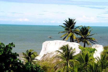 Casa de praia em Aracati com vista espetacular.