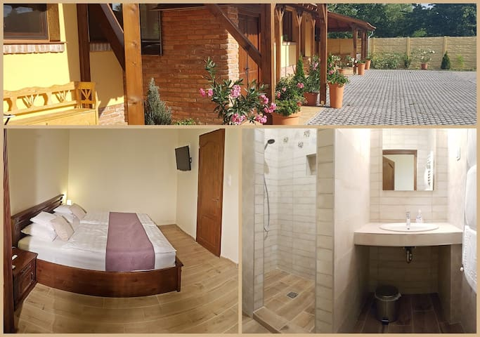 2 bedroom, 2 bathroom, min. 2 nights in the center