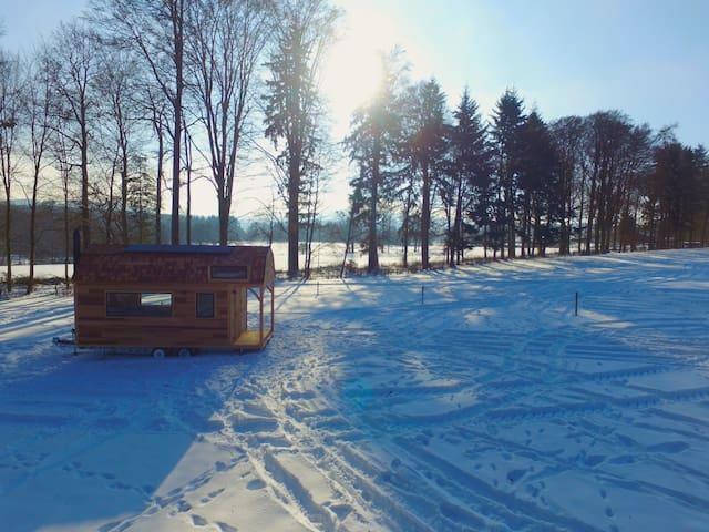 Tiny House autonome - Wood-Lodge - Lierneux