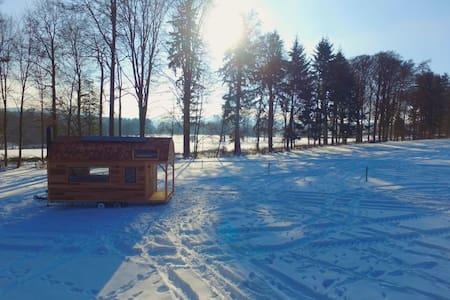 Tiny House autonome - Wood-Lodge - Lierneux - Cabin