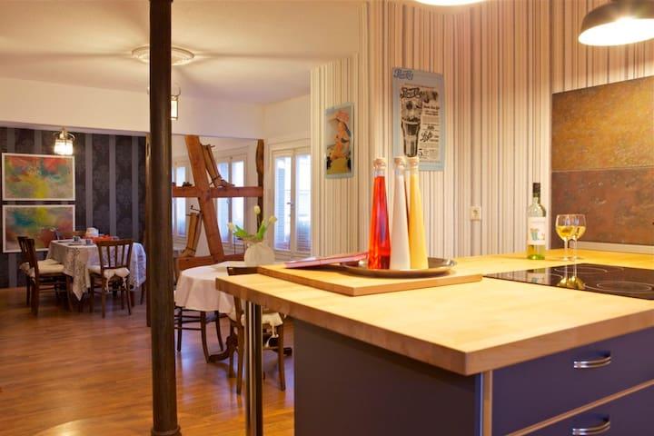 140 qm Ferienwohung Münsterblick - Münstermaifeld - Appartement