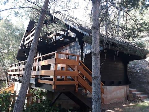 Cañón del Río Lobos, La Cabaña de Ton