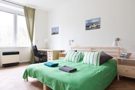 Spacious room 15 minutes from the Prague Castle - Praha - Huoneisto