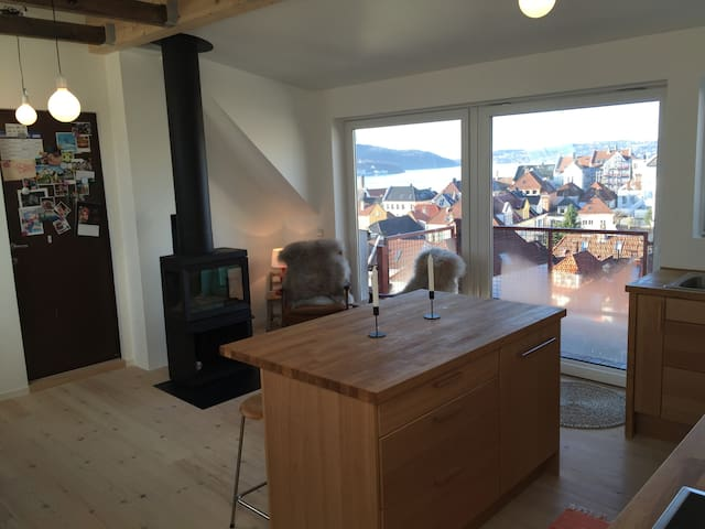 Cozy top floor apartment in the heart of Bergen