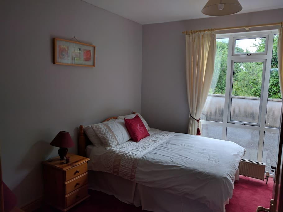 Comfortable and spacious double bed room.