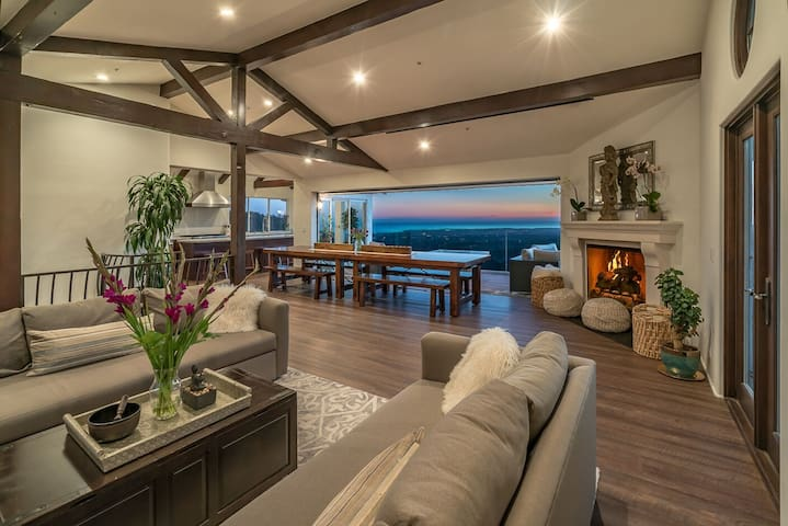 Luxury SB Villa w/ Ocean Views - Sleeps 28