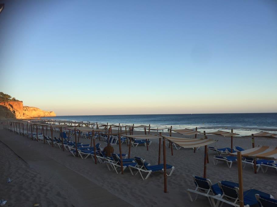 praia do Porto Mos, à 15 minutes à pieds de l'appartement
