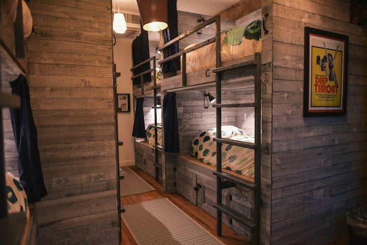 Stylish Shared Room Accommodations