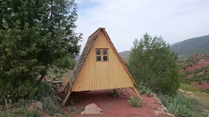 gemütliche Finnhütte für 2 Personen in der Natur