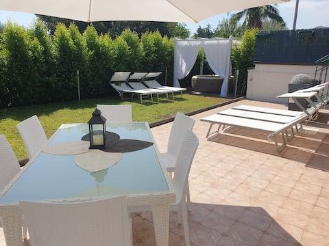Villa Antares con piscina idro tra  Etna-Taormina