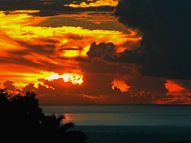 Marigot bay Sunset