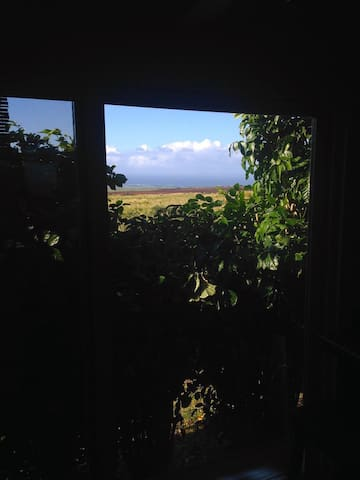 Upcountry ocean view tiny house - Makawao