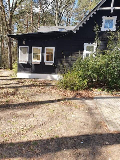 Villa Babuschka - gemütliches Holzhaus mit Garten
