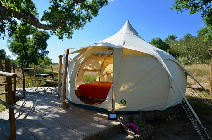 Sustainable Glamping - The Nest