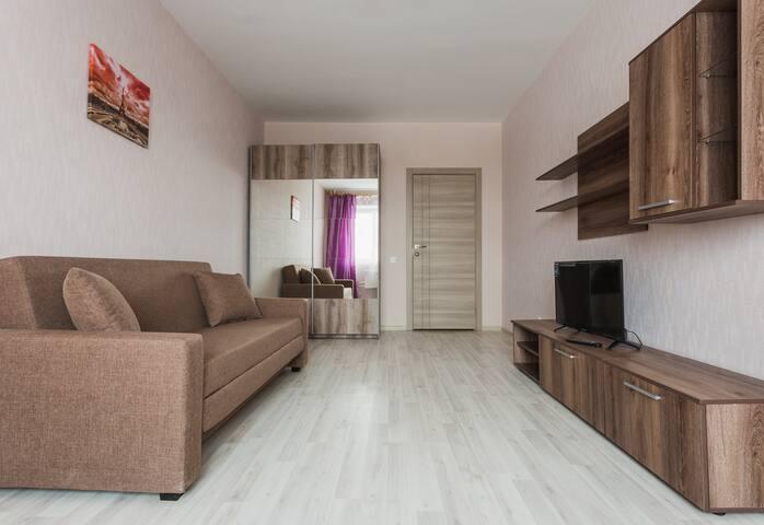 "Уютная комната ""малина""/comfortable flat - Moskva - Appartement"