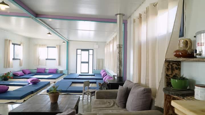 White Khan dormitory