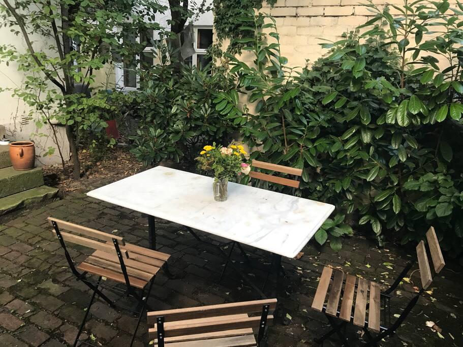 Garten mitten in Ottensen