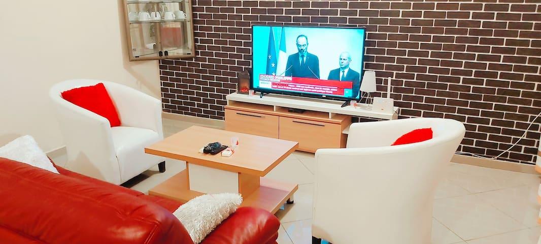 Appartement meublé confortable à Cotonou