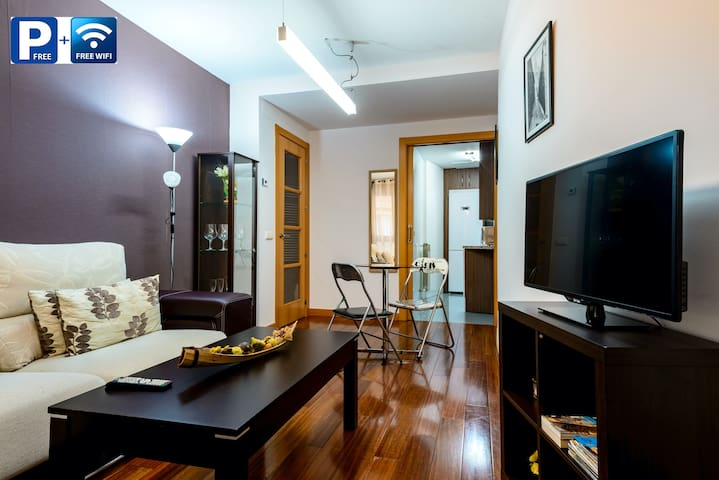 Luxury Apt. in the historic quarter with parking