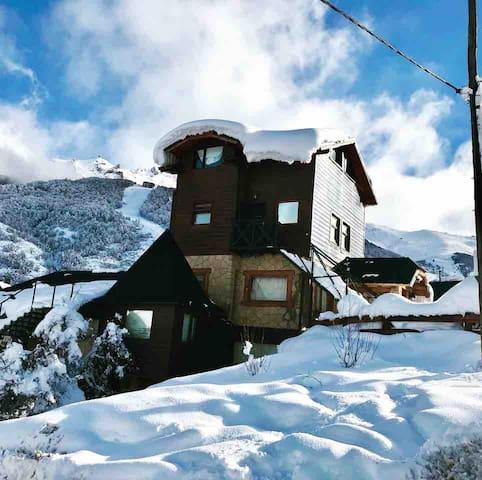 Cabaña montaña en Cerro Catedral - 4/5 pasajeros