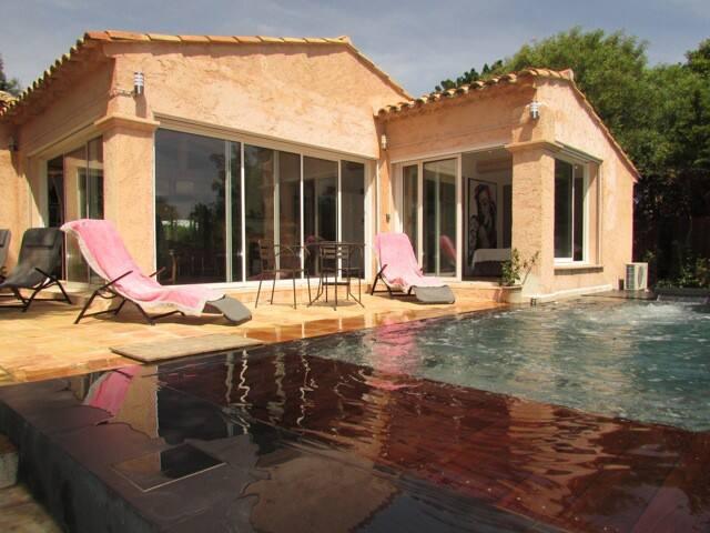 SAINT TROPEZ SWIMMING POOL VILLA SALINS BEACH 150M - Saint-Tropez - Villa